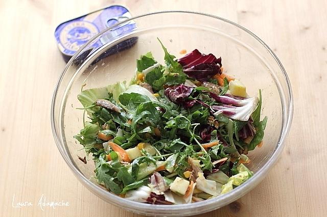 salata cu macrou preparare