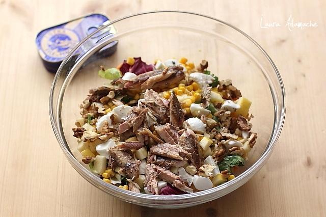 salata de vara cu macrou