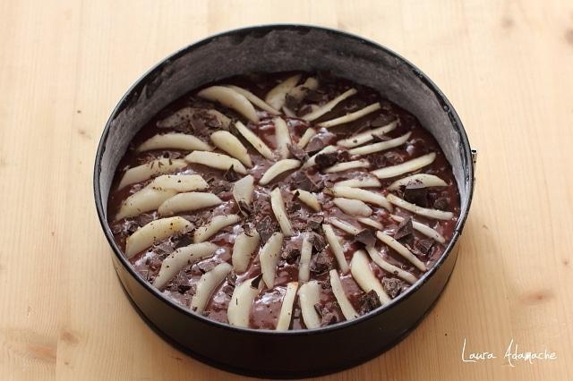 prajitura cu pere in forma